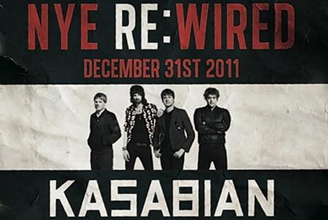 Kasabian - Live London O2 Arena NYE 2011/2012