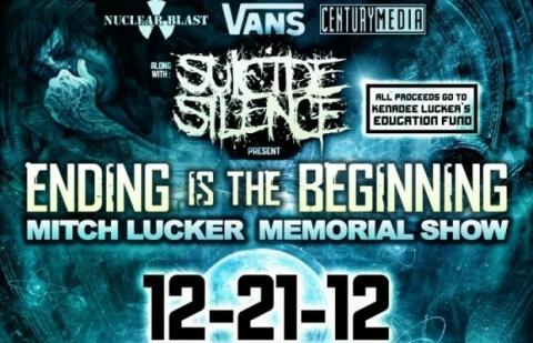 Suicide Silence - Mitch Lucker memorial show