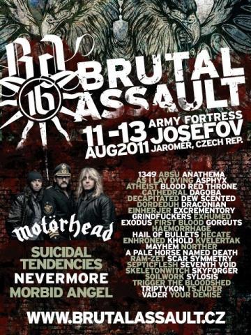 Brutal Assault nabral na palubu další dvě kapely!