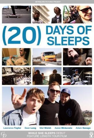 Mrkněte se na první část filmu o While She Sleeps