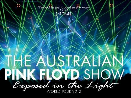 The Australian Pink Floyd Show Exposed in the light World Tour 2012