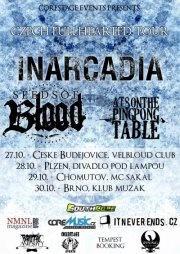 Czech Fullheated Tour v říjnu nabídne Inarcadia, Seeds Of Blood a At8onthepingpongtable