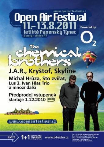 Open Air Festival rozšiřuje line-up o Švihadlo a Jiřího Schmitzera, DJe odhalí v červnu