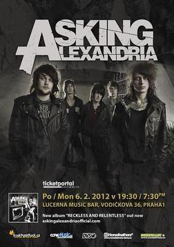 Asking Alexandria se v únoru vrátí do Prahy!