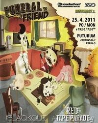 Funeral For A Friend navštíví Prahu