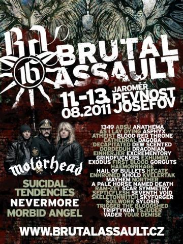 Nově potvrzené kapely na Brutal Assault