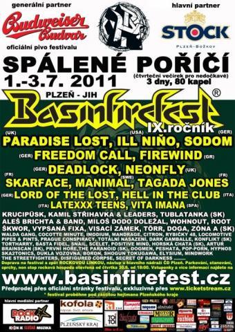 Basinfirefest 2011 vypukne už za týden