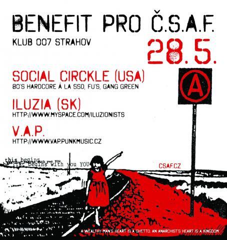 Benefit na ČSAF již tuto sobotu!