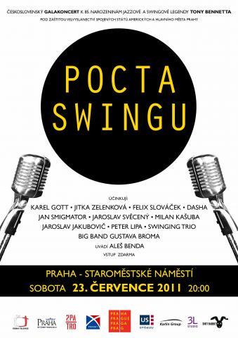 V Praze se bude swingovat ve velkém