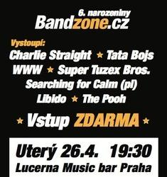 Dnes v Lucerna Music Baru - Bandzone má 6. narozeniny!!!