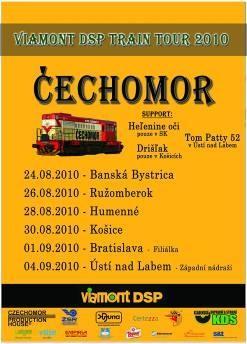 Skupina Čechomor bude opět koncertovat na železničních stanicích!