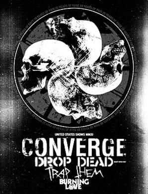 Converge a Drop Dead na jedné desce
