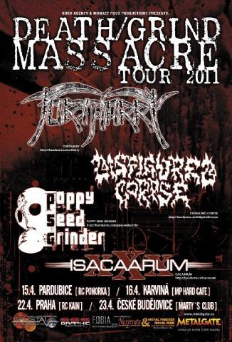 Death/Grind Massacre Tour 2011 aneb česká velikonoční devastace
