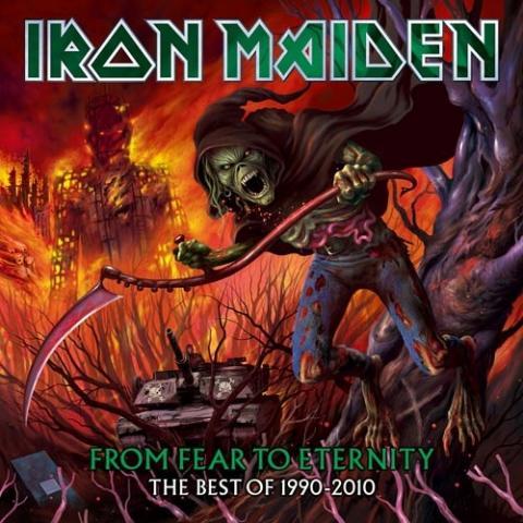 Nová deska Iron Maiden