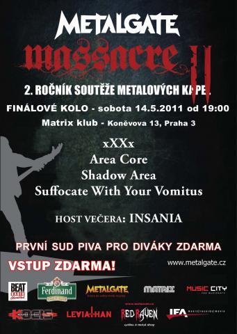 MetalGate Massacre vol.II - jdeme do finále!