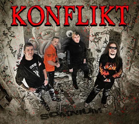 Punková legenda Konflikt vydává nové album