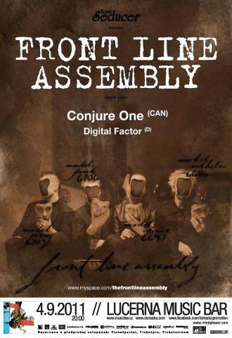 Fanoušci stylu EBM se 4. září mohou těšit na Front Line Assembly,  Conjure One a Digital Factor