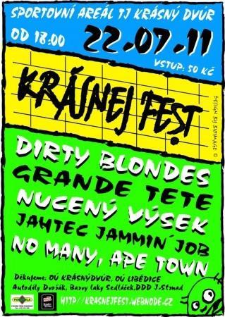 Krásnej Fest 2011 v Krásném Dvoře