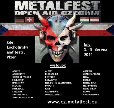 Metalfest má zveřejnil svůj lineup