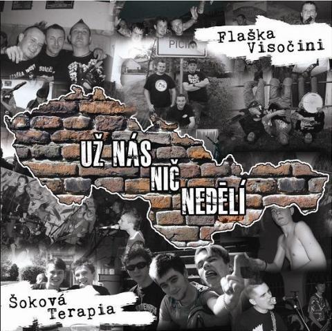 Flaška Visočini a Šoková Terapia vydali split CD