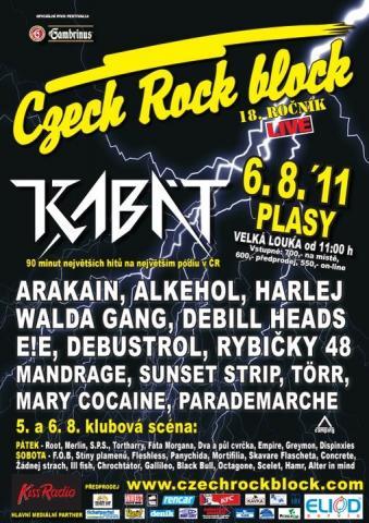 Do Plas se chystá tradiční Czech Rock Block