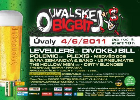 Na letošním Ouvalském bigbítu uvítá Divokej Bill britskou skupinu Levellers