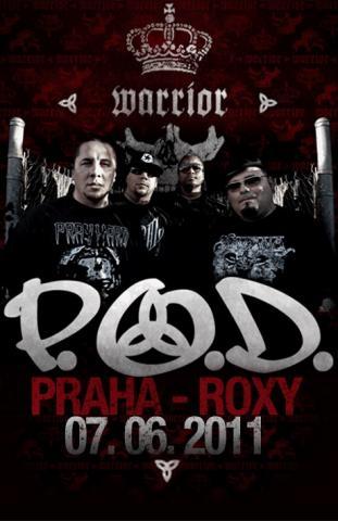 Hvězdní Američané P.O.D. vystoupí 7. června poprvé v ČR