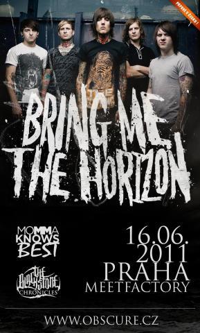 Oznámen support koncertu Bring Me The Horizon