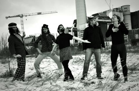 Skupina První hoře natáčí nové album!