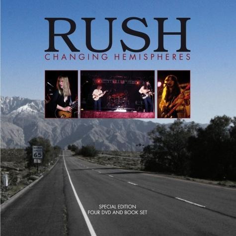 Rush vyjde kniha s DVD