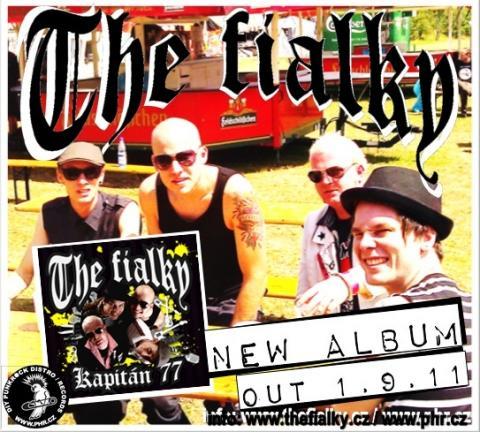 The Fialky: První ochutnávka z nové desky Kapitán77