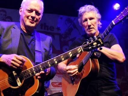 David Gilmour vystoupil na turné The Wall Live 12.5. 2011 v Londýně