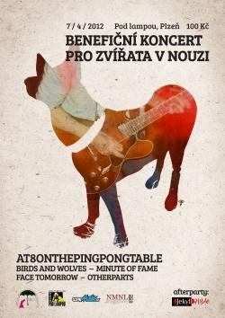 Benefiční koncert pro zvířata v nouzi