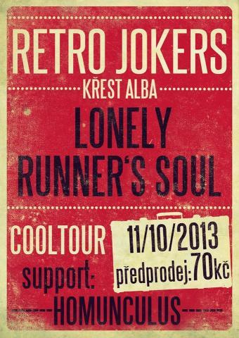Retro Jokers - křest alba Lonely Runner's Soul