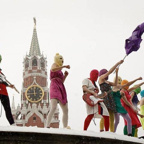 Členky ruské punkové skupiny Pussy Riot mohou být odsouzeny až na 7 let vězení