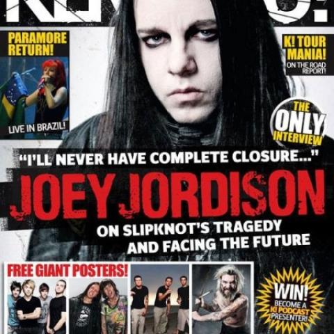 Kerrang! - Joey Jordison - SLIPKNOT will never die!