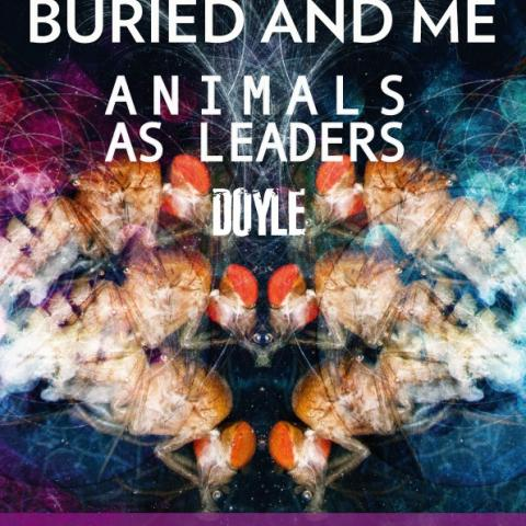Between The Buried And Me, Animals As Leaders, Doy...