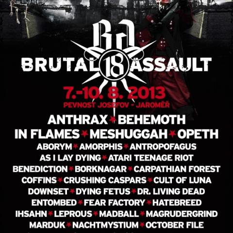 Brutal Assault 18 - fotoreport