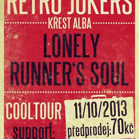 Retro Jokers - křest alba Lonely Runner's Soul