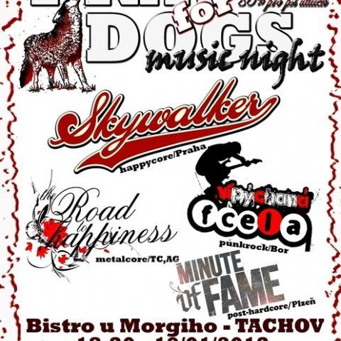 Pray for dogs music night